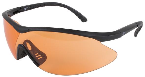 Edge Tactical Eyewear Fastlink Safety Glasses Black Frame Tiger's Eye Vapor Shield Lens