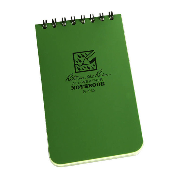 Rite In The Rain Notebook Green