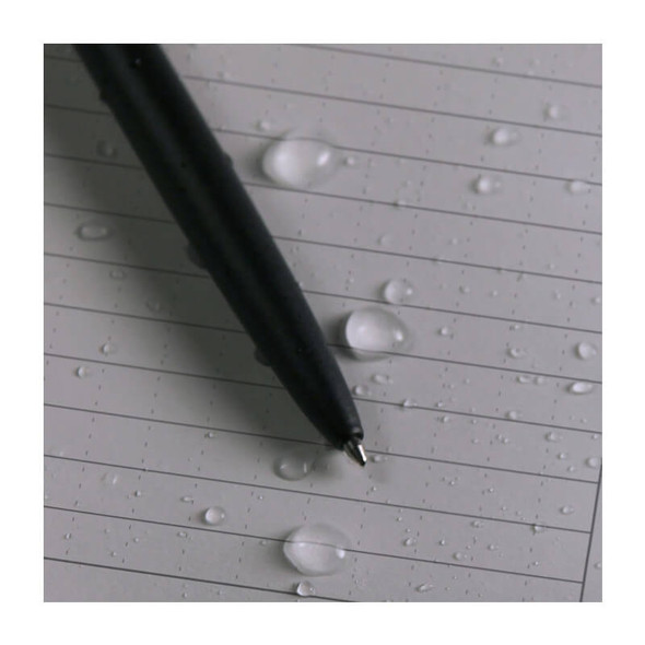 Rite In The Rain Memo Book Black - Ruled Waterproof Paper