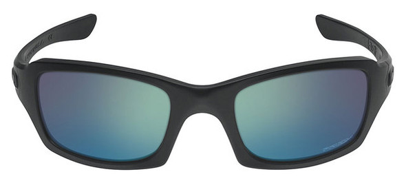 Oakley SI Fives Squared Sunglasses with Matte Black Frame and Prizm Maritime Lens
