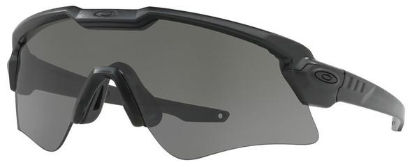Oakley SI Ballistic M Frame Alpha Sunglasses with Matte Black Frame and Grey Lens