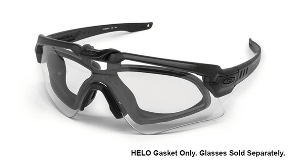 Oakley SI Ballistic M Frame Alpha HELO Gasket w/Glasses Sample