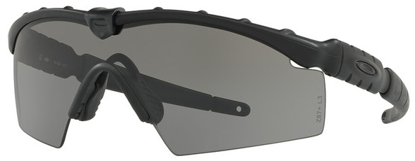Oakley SI Industrial Ballistic M-Frame 2.0 with Matte Black Frame and Grey Lens