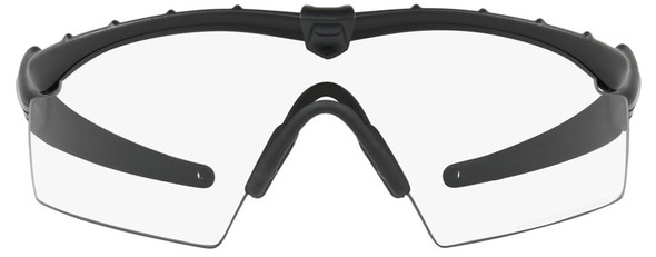 Oakley SI Industrial Ballistic M Frame 2.0 with Matte Black Frame and Clear Lens - Front