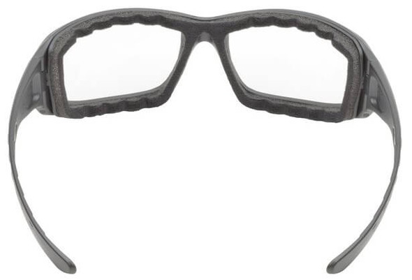 Elvex Go-Specs Pro Safety Glasses with Black Frame, Foam and Gray Anti-Fog Lens - Back