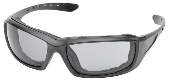 Elvex Go-Specs Pro Safety Glasses with Black Frame, Foam and Gray Anti-Fog Lens