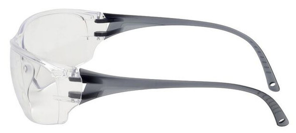 Elvex Helium 18 Ultralight Safety Glasses with Clear Lens - Side
