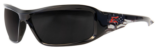 Edge Brazeau Designer Series with Black Patriot1 Frame and Polarized Smoke Lens