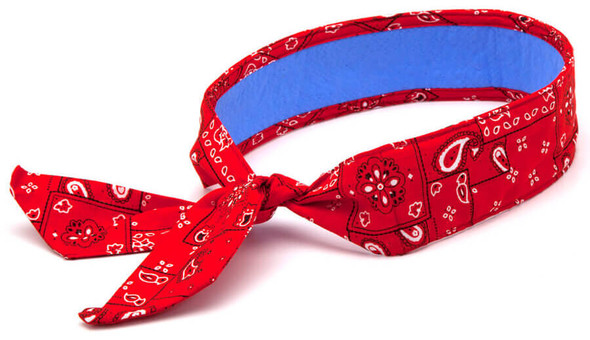 Pyramex Red Cooling Bandana CBD-RED