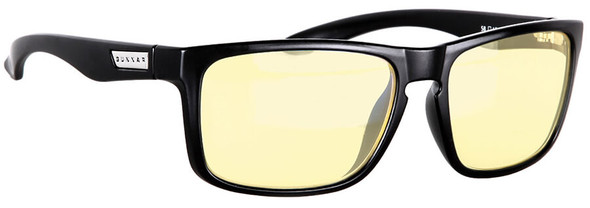 Gunnar Intercept Digital Performance Eyewear with Onyx Frame and Amber Lens