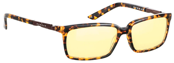 Gunnar Haus Computer Glasses with Tortoise Frame and Amber Lens