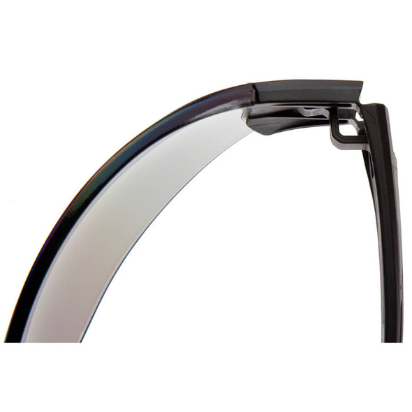 Pyramex Trulock Dielectric Safety Glasses with Black Temples and Clear Anti-Fog Lens - Hinge