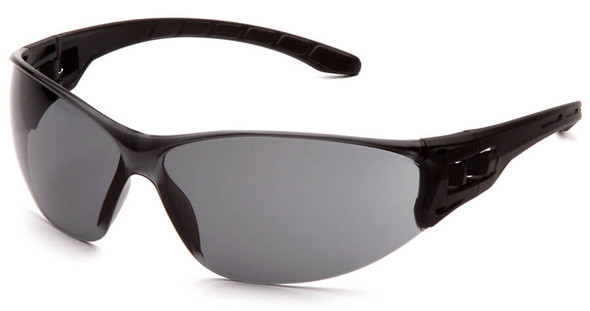 Pyramex Trulock Dielectric Safety Glasses with Black Temples and Gray Anti-Fog Lens SB9520ST