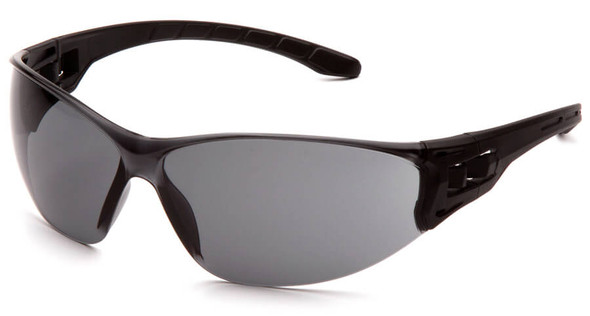 Pyramex Trulock Dielectric Safety Glasses with Black Temples and Gray Lens