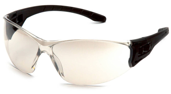 Pyramex Trulock Dielectric Safety Glasses with Black Temples and Indoor-Outdoor Lens SB9580S