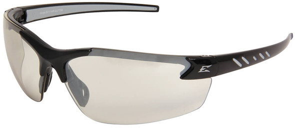 Edge Zorge G2 Safety Glasses with Black Frame and Indoor/Outdoor Lens