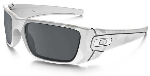 Oakley SI Fuel Cell Sunglasses with Multicam Alpine Frame and Black Iridium Lens