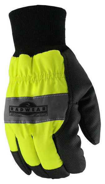 Radians RWG800 Silver Series Hi-Vis Thermal Lined Glove - Top