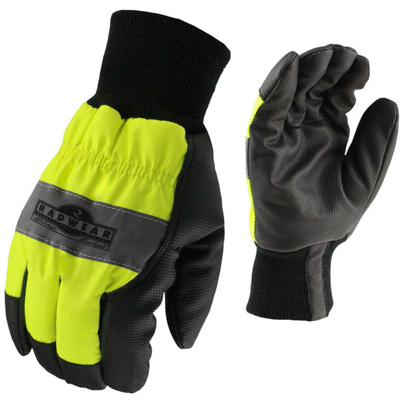 Radians RWG800 Silver Series Hi-Vis Thermal Lined Glove
