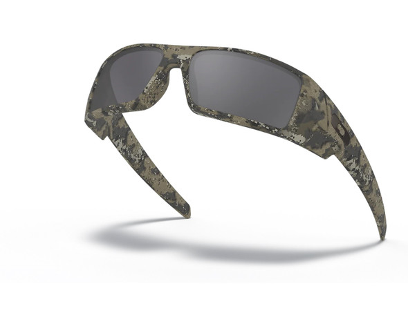 Oakley SI Gascan Sunglasses with Desolve Bare Camo Frame and Black Iridium Lens OO9014-12 Profile View