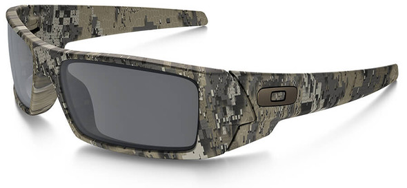 Oakley SI Gascan Sunglasses with Desolve Bare Camo Frame and Black Iridium Lens OO9014-12