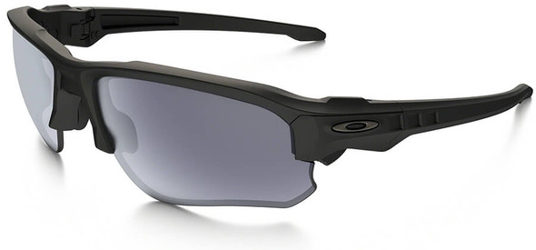 Oakley SI Speed Jacket Sunglasses with Matte Black Frame and Gray Lens