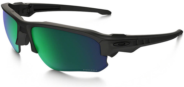 Oakley SI Speed Jacket Safety Sunglasses with Matte Black Frame and Prizm Maritime Polarized Lens