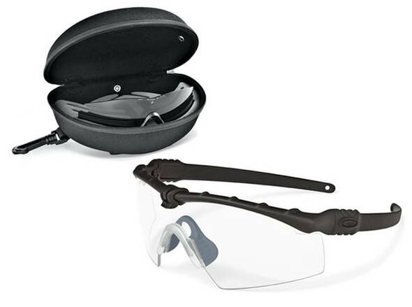 Oakley SI Ballistic M Frame 3.0 Array with Matte Black Fleet Frame and Clear and Grey Lens