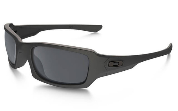 Oakley SI Fives Squared Sunglasses with Cerakote Cobalt Frame and Black Iridium Lens