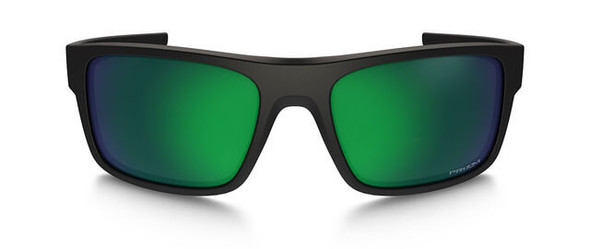 Oakley SI Drop Point Sunglasses with Matte Black Frame and Prizm Maritime Polarized Lens - Front