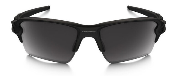 Oakley SI Blackside Flak 2.0 XL Sunglasses with Satin Black Frame and Prizm Black Polarized Lens - Front