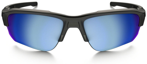 Oakley SI Speed Jacket Safety Sunglasses with Matte Black Frame and Prizm Deep Water Polarized Lens - Front