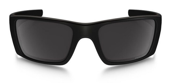 Oakley SI Blackside Fuel Cell Sunglasses with Matte Black Frame and Prizm Black Polarized Lens - Front