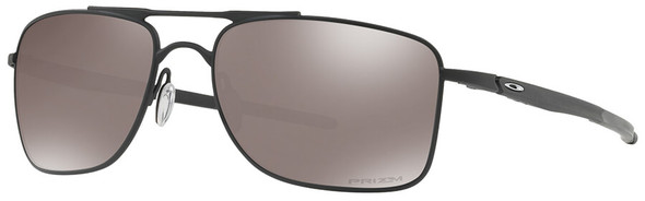 Oakley Gauge 8 Sunglasses with Matte Black Frame-62 and Prizm Black Iridium Polarized Lens