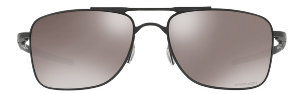 Oakley Gauge 8 Sunglasses with Matte Black Frame-62 and Prizm Black Iridium Polarized Lens - Front