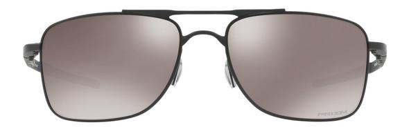 Oakley Gauge 8 Sunglasses with Matte Black Frame-62 and Prizm Black Iridium Polarized Lens - Front