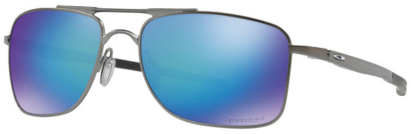 Oakley Gauge 8 Sunglasses with Matte Gunmetal Frame-57 and Prizm Sapphire Iridium Polarized Lens