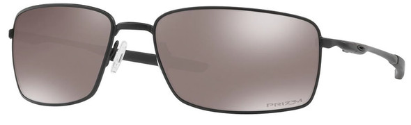 Oakley SI Blackside Square Wire Sunglasses with Matte Black Frame and Prizm Black Polarized Lens