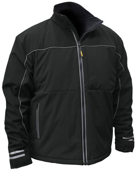 DeWalt Black Softshell Heated Jacket