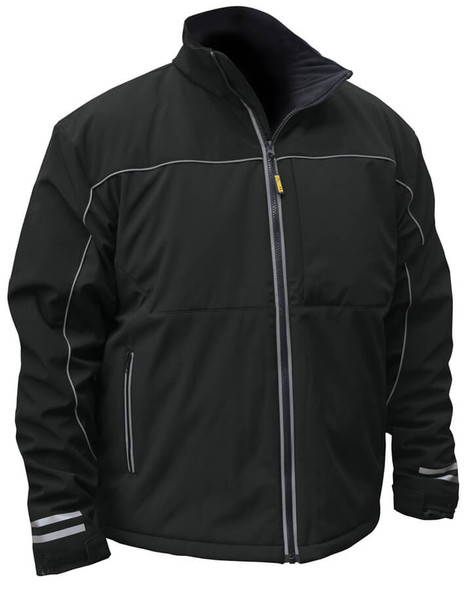 DeWalt Black Softshell Heatable Jacket (without Battery)