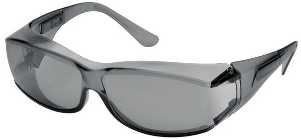 Elvex OVR-Spec III Safety Glasses with Gray Lens