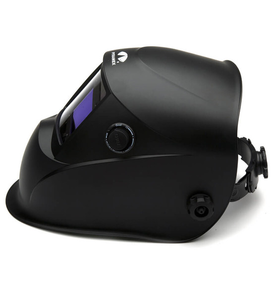 Pyramex Leadhead WHAM10 Series Auto-Darkening Welding Helmet, Matte Black - Side