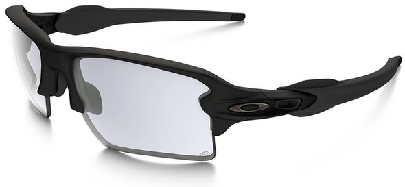 Oakley SI Flak 2.0 XL Sunglasses with Matte Black Frame and Photochromic Lens