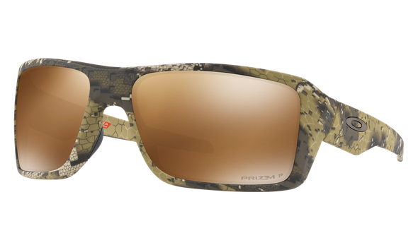 Oakley SI Double Edge Sunglasses with Desolve Bare Frame and Prizm Tungsten Polarized Lens OO9380-1266