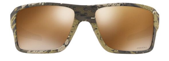 Oakley SI Double Edge Sunglasses with Desolve Bare Frame and Prizm Tungsten Polarized Lens OO9380-1266 - Front