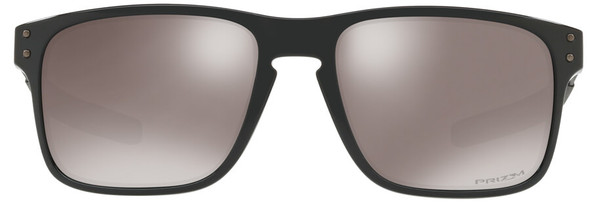 Oakley Holbrook Mix Sunglasses with Polished Black Frame and Prizm Black Polarized Lens - Front