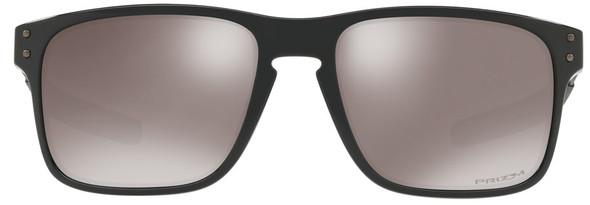 Oakley Holbrook Mix Sunglasses with Polished Black Frame and Prizm Black Polarized Lens - Front