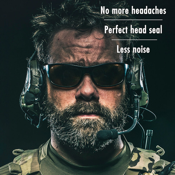 No more headaches with Noisefighters Sightlines Gel Ear Pads
