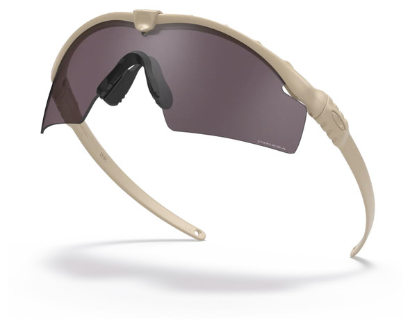 Oakley SI Ballistic M Frame 3.0 with Bone Frame and Prizm Grey Lens OO9146-3432 Profile View