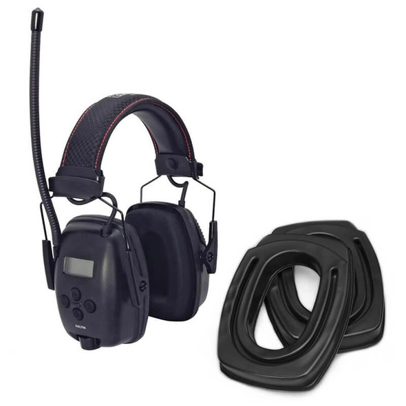 SightLines Ear Cushions & Howard Leight Sync Digital Radio Earmuff Bundle